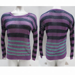 Wallace sweater Small Stripecast pullover knit
